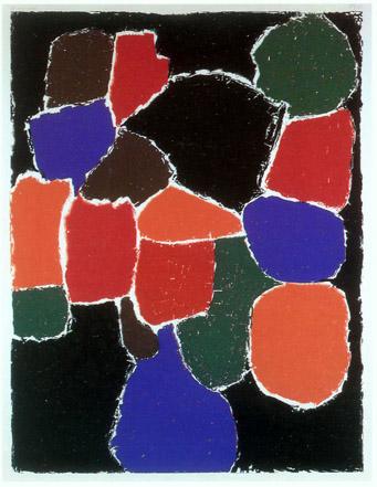 Günthern Förg, Ohne Titel II, 1996 Originalgrafik 130 x 100 cm, Auflage 40 (2)