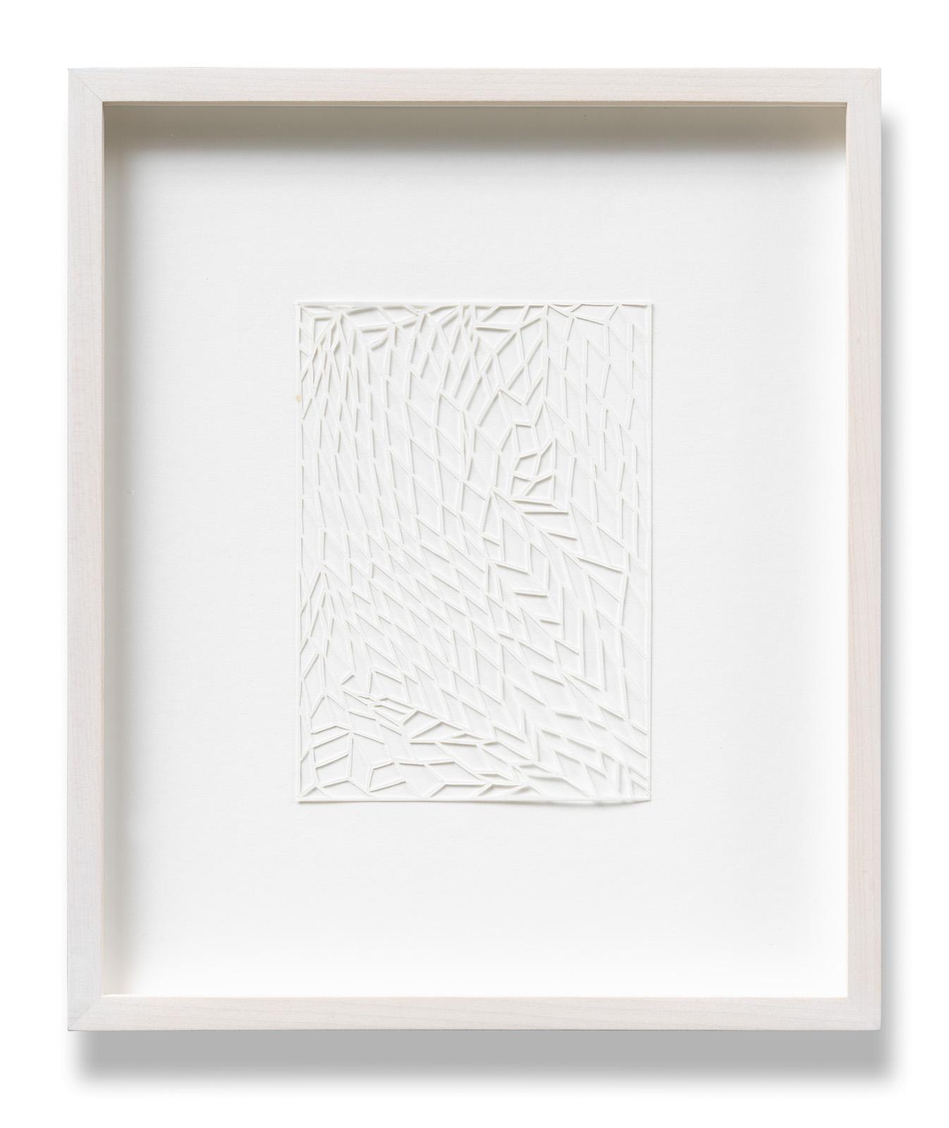Katharina Hinsberg, Ajouré, A_2015_039, 2015, Papier geschnitten, 15 x 10 cm