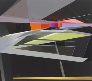Tanja Rochelmeyer, Ohne Titel, WVZ 1413, Acryl auf Leinwand, 140x160cm 300dpi