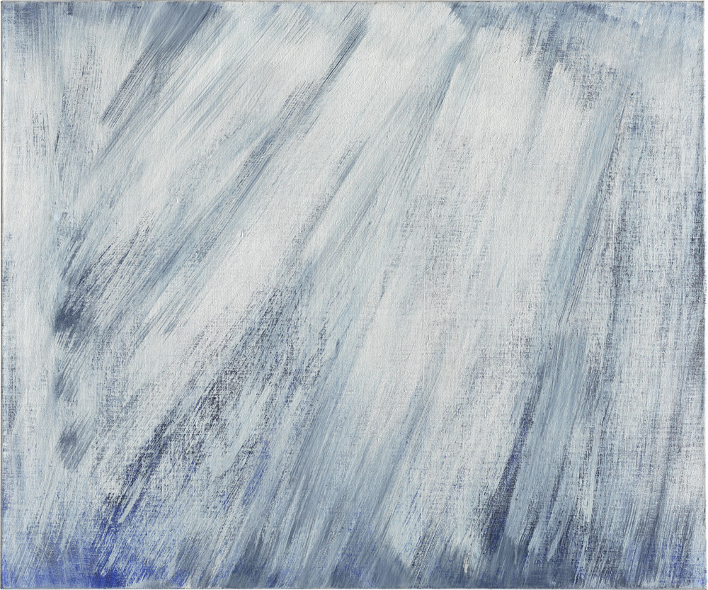 girke_0163, Raimund Girke, Gelassen, 1989, Leinwand, 100 x 120 cm