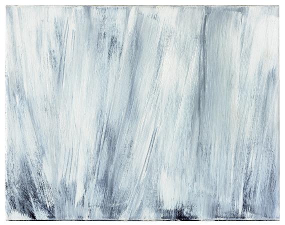 girke_0328 Raimund Girke, Ruhig bewegt, 1992, Öl auf Leinwand, 70 x 90 cm