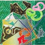 1982 Lithographie und Siebdruck auf 320 g Arches Karton    Lithograph and screen print 320 gram Arches paper 101 x 115,6 cm / 39.75 x 45.25 in. Edition : 100 + 25 A.P. signiert, datiert und nummeriert signed, dated, and numbered  Verleger publisher:  Petersburg Press, New York   Zurück zur Übersicht